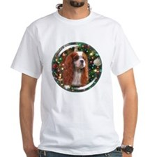 Blenheim Cavalier Christmas Backg Shirt