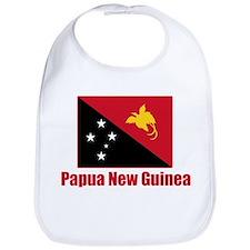 Papua New Guinea Flag Bib