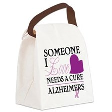 Someone I Love.... Canvas Lunch Bag
