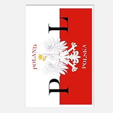 Polska Polish iPad Mini C Postcards (Package of 8)