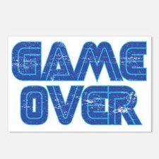 Game Over 2 Postcards (Package of 8)