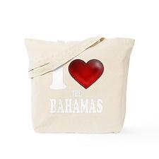 I Heart The Bahamas Tote Bag