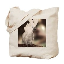 Umbrella Cockatoo Tote Bag