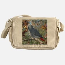 Sunlight on Feathers Messenger Bag