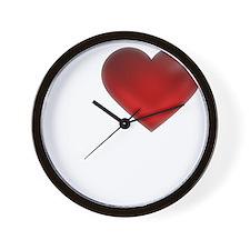 I Heart Tonga Wall Clock