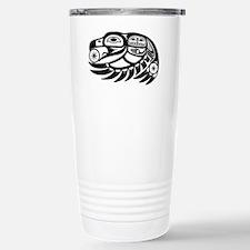 Native American Raven S Stainless Steel Travel Mug