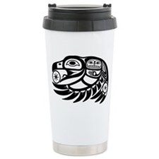 Native American Raven S Travel Coffee Mug