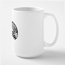 Native American Raven Sun Large Mug