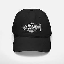 Native American Salmon Baseball Cap