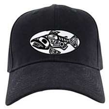 Native American Salmon Baseball Hat