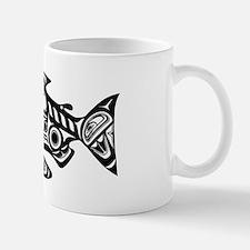 Native American Salmon Small Small Mug