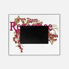 Team Renesmee floral Pink Gold Picture Frame