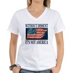 Without Dissent Women's V-Neck T-Shirt