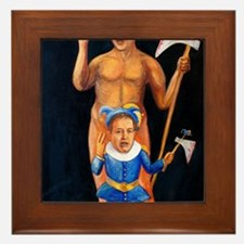 Cameron  Clegg: Bloody Cuts Framed Tile