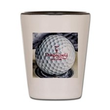 PGC logo golf ball Shot Glass