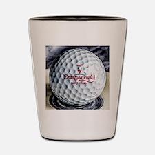 PGC logo golf ball Shot Glass