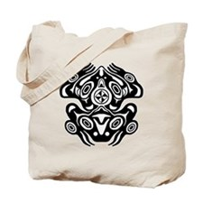 Native American Frog Tote Bag
