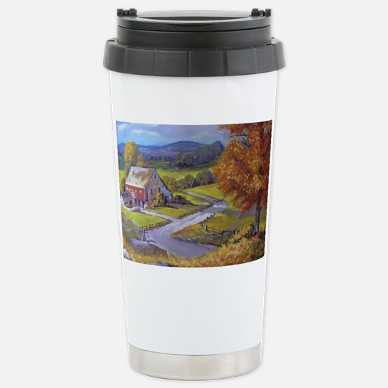 Where the Road Goes Stainless Steel Travel Mug
