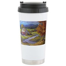 Where the Road Goes Travel Mug