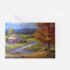 Where the Road Goes Greeting Card