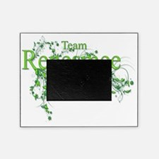Team Renesmee floral Lime Green Neon Picture Frame