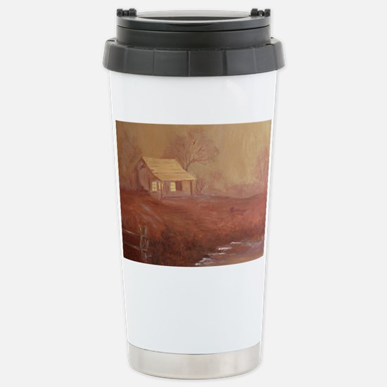 Misty Evening Stainless Steel Travel Mug