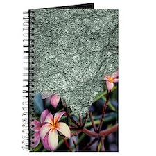 frangipani blossoms Journal