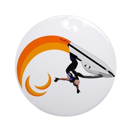 Hot Roll Ornament (Round)