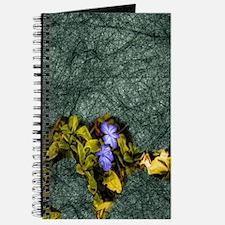 purple wildflower Journal