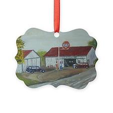 Earls Garage Ornament