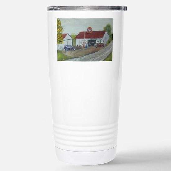 Earls Garage Stainless Steel Travel Mug
