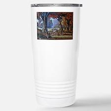A Drink at the Pond Travel Mug