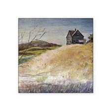 """Old House Square Sticker 3"""" x 3"""""""