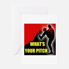 PITCHER Greeting Cards (Pk of 10)