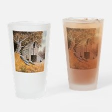 Old Barn Drinking Glass