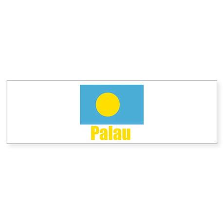 Palau Flag Bumper Sticker