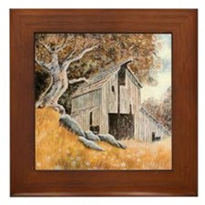 Old Barn Framed Tile