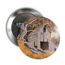 """Old Barn 2.25"""" Button"""