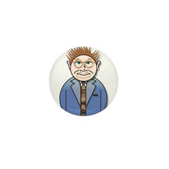 Jack the Late Nite dude Mini Button (100 pack)