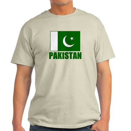 Pakistan Flag T Shirts Light T-Shirt