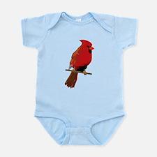 Male Cardinal Infant Bodysuit