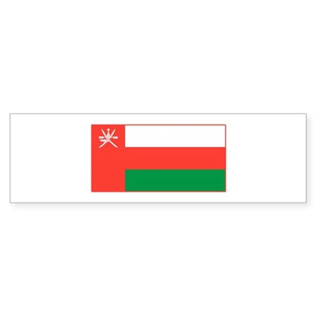 Oman Flag T Shirts Bumper Sticker