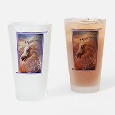 Arabian Horses in Dreamland Drinking Glass