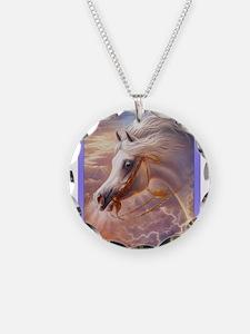Arabian Horses in Dreamland Necklace