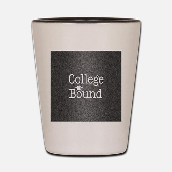 College Bound Shot Glass