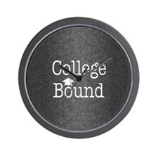 College Bound Wall Clock