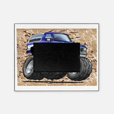 95_Blue_W_Bronco Picture Frame