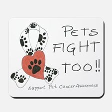 Pets Fight Too Mousepad