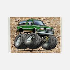95_Green_EB_Bronco Rectangle Magnet
