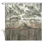 Rainier Dusk Shower Curtain